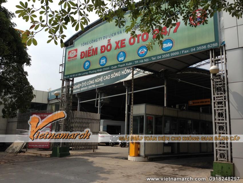 Giàn thép đỗ xe thông minh số 68 Lê Văn Lương