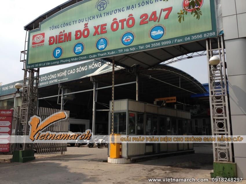 Tư vấn thiết kế điểm đỗ xe thông minh số 68 Lê Văn Lương