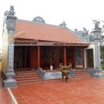 Thi công xây dựng nhà thờ họ tại Kim Sơn – Ninh Bình