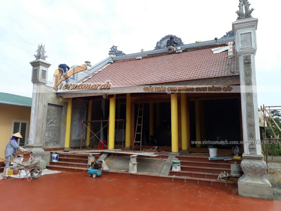 Thi công xây dựng nhà thờ họ tại Kim Sơn - Ninh Bình