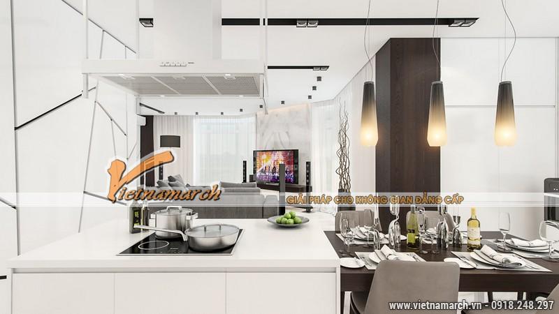Nhà bếp hiện đại và đầy đủ chức năng