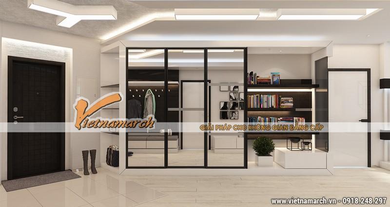 Vietnamarch thiết kế nội thất căn hộ chung cư NewSkyLine