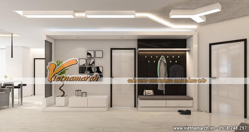 Thiết kế nội thất chung cư New Skyline căn hộ cao cấp