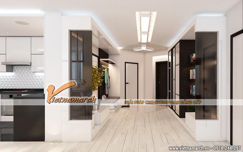 Thiết kế nội thất chung cư New SkyLine - Nội thất phòng bếp