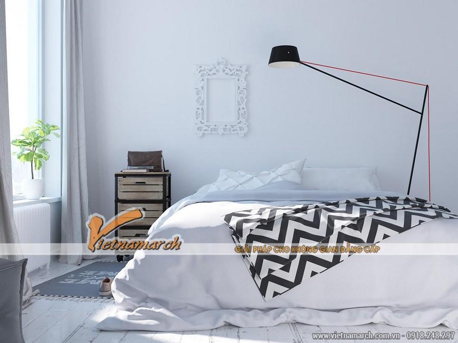 Phòng ngủ hiện đại và đầy đủ công năng ...