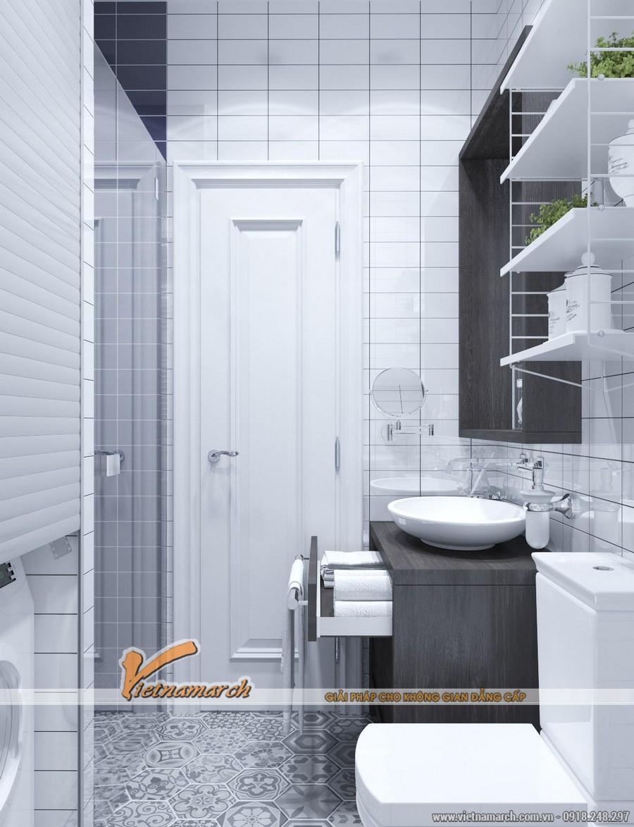 Phòng tắm hiện đại với đầy đủ công năng