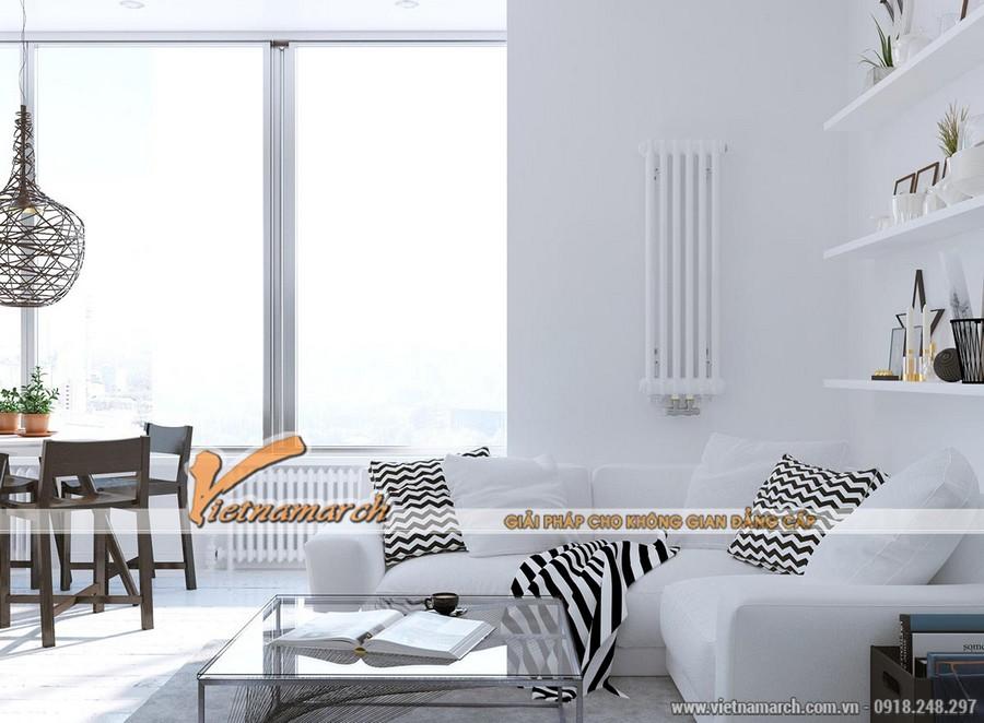 Nội thất nhà anh Hoàng Anh được thiết kế theo phong cách đơn giản mà hiện đại,