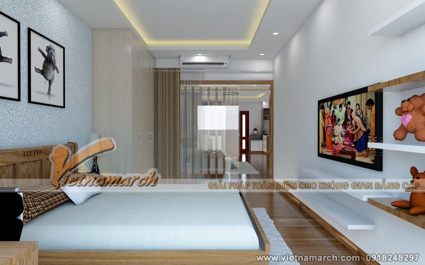 Thiết kế nội thất chung cư Đông Đô - Phòng ngủ cho con 02