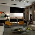 Phương án thiết kế nội thất căn hộ A1B tòa tòa A chung cư Trung Kính