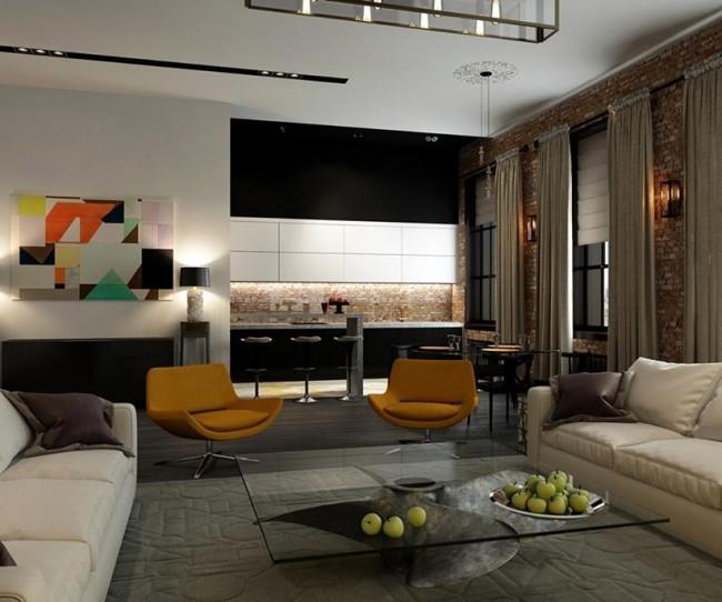 Vietnamarch lên phương án thiết kế nội thất chung cư Trung Kính - Complex Home City