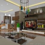 Thiết kế nội thất chung cư Đông Đô căn hộ 1806