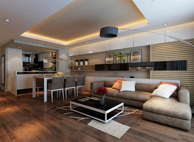 Vietnamarch tư vấn thiết kế nội thất chung cư thêm đẹp mắt - sử dụng nội thất đồ gỗ tự nhiên