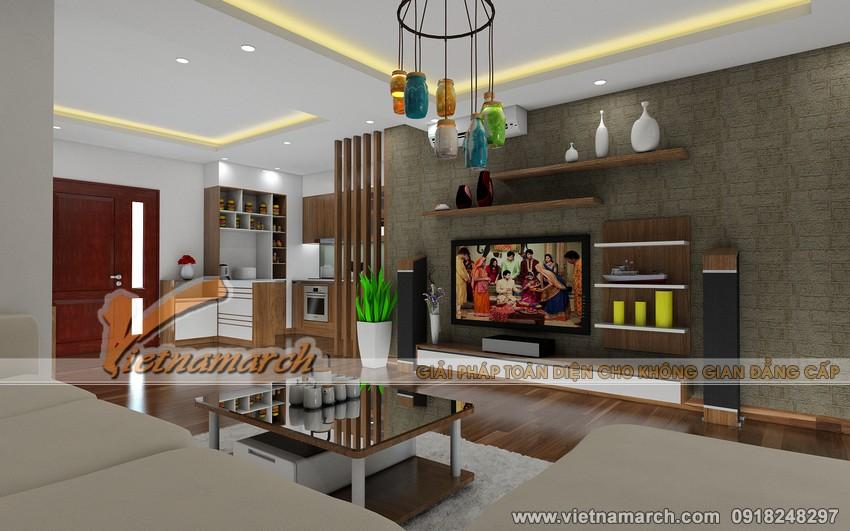 Phòng khách hiện đại nhờ thiết kế hệ trần thạch cao và cách sắp xếp đồ nội thất thông minh