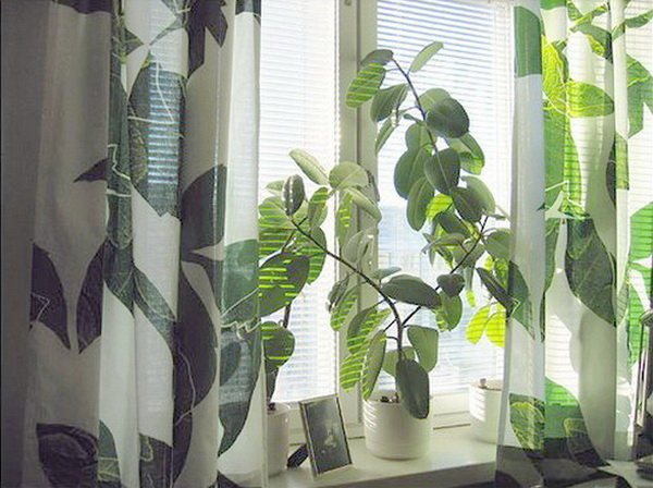Tư vấn thiết kế nhà đẹp - chọn rèm cửa đẹp cho nhà biệt thự