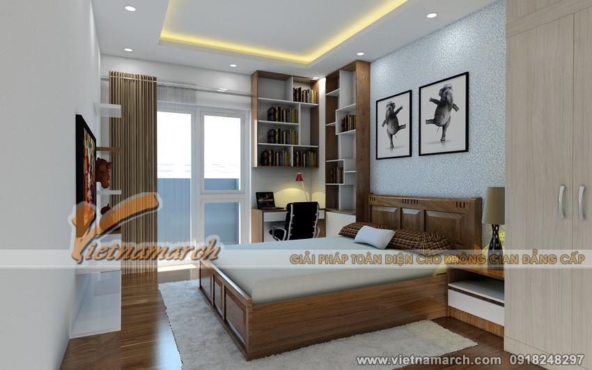 Thiết kế nội thất chung cư Đông Đô - Phòng ngủ cho con