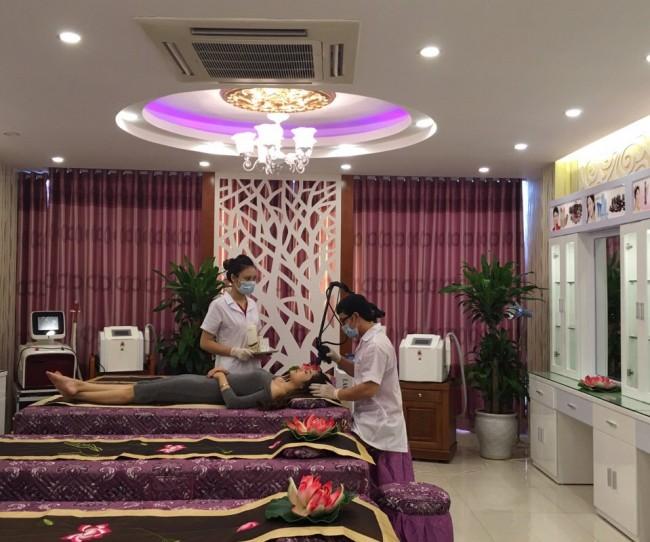 Tư vấn thiết kế nội thất Spa Saigon Beauty