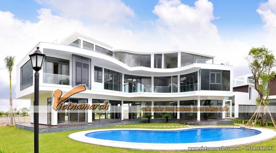 Vietnamarch Thiết kế biệt thư, tư vấn khách hàng thiết kế nội thất biệt thự Lucasta