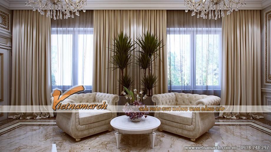 Phong cách thiết kế nội thất của thời Louis XVI.