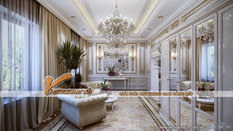 Phong cách thiết kế nội thất cổ điển của thời Louis XVI -03