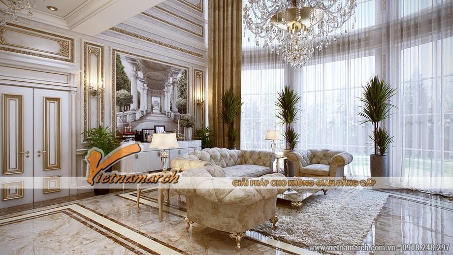 Phong cách thiết kế nội thất cổ điển của thời Louis XVI - 04