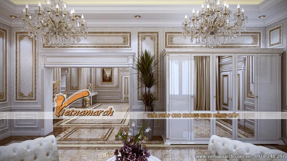 Thiết kế nội thất tân cổ điển mang phong cách của Louis mẫu thiết kế 4