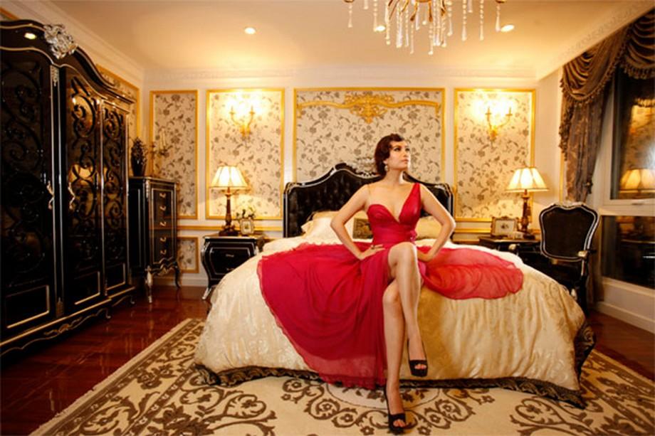 Nội thất mang phong cách hoàng gia trong các căn hộ mẫu của chung cư D'. PALAIS DE LOUIS - Tân Hoàng Minh
