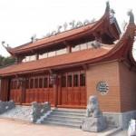 Mẫu nhà thờ họ 2 tầng mái tại Tuyên Hóa – Quảng Bình