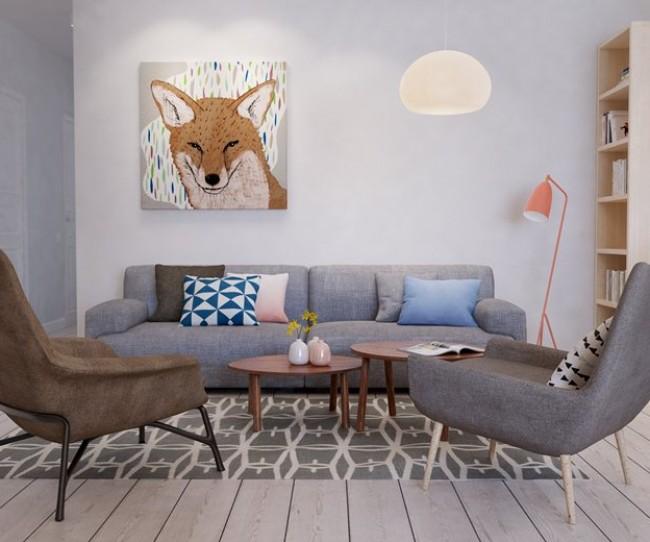 Thiết kế nội thất chung cư Đông Đô mang phong cách của Nhật