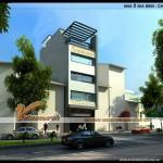 Thiết kế nhà phố 5 tầng hiện đại cho nhà chị Hạnh