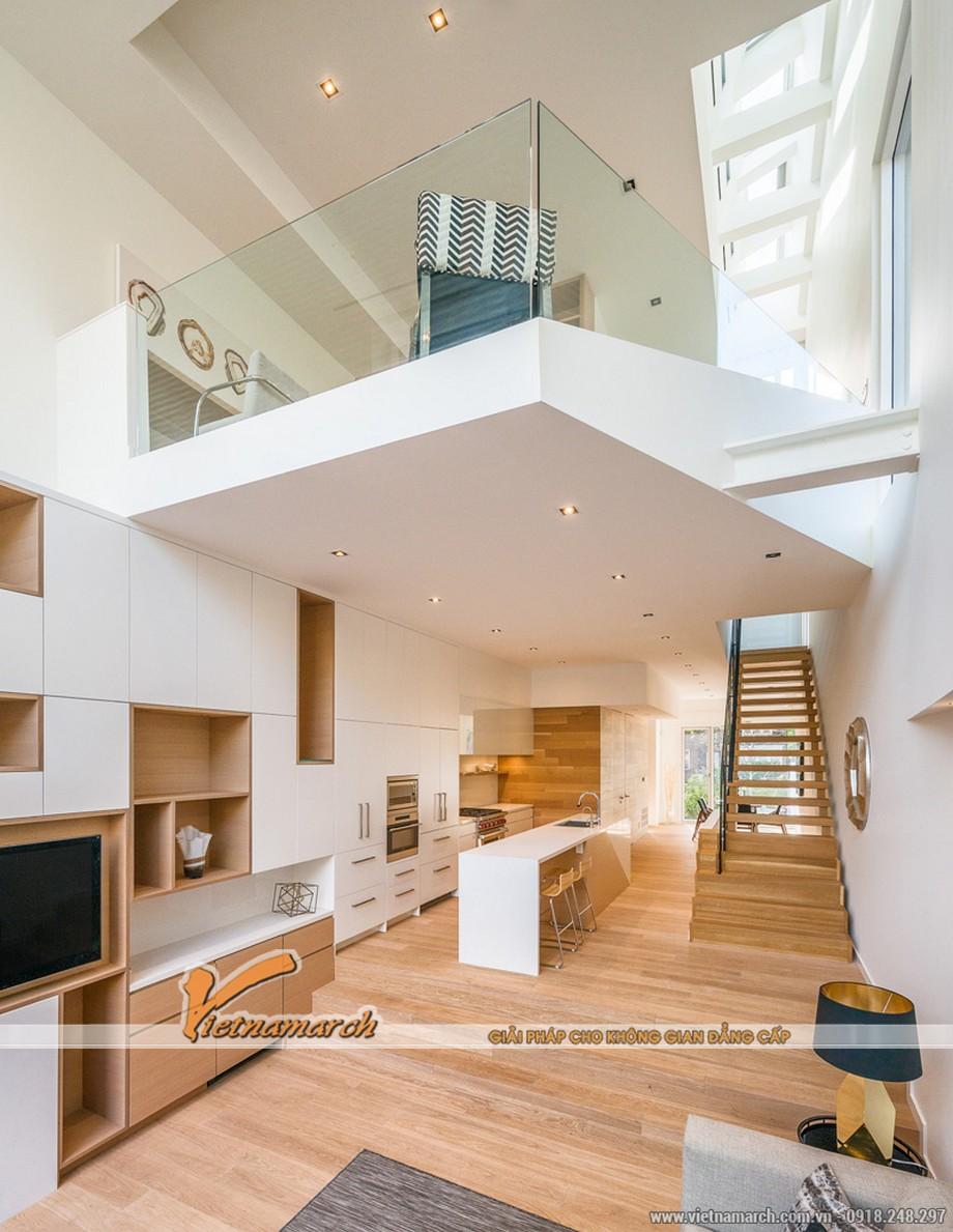 Thiết kế nội thất nhà phố liền kế với mẫu nhà Loft lý tưởng