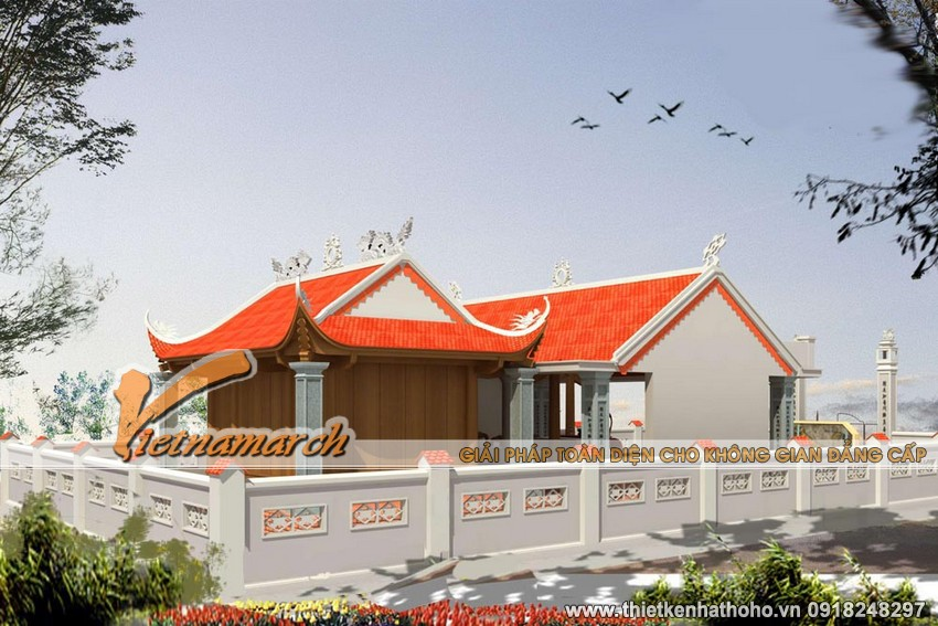 Những đường lối kiến trúc của nhà thờ đã tôn vinh lên vẻ đẹp của con người họ Vũ - Yên Hưng, Quảng Ninh
