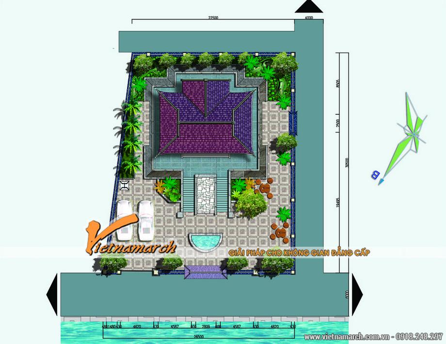 Vietnamarch lên phương án thiết kế nhà thờ họ cho dòng họ Hoàng ở Ân Thi - Hưng Yên