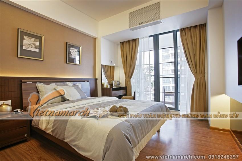Nội thất phòng ngủ lớn chung cư Đông Đô 100 Hoàng Quốc Việt.