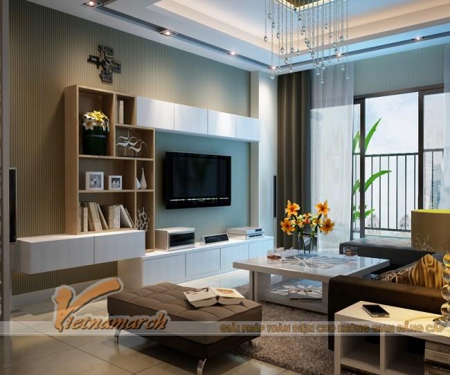 Tư vấn thiết kế nội thất chung cư đông đô căn hộ 1508