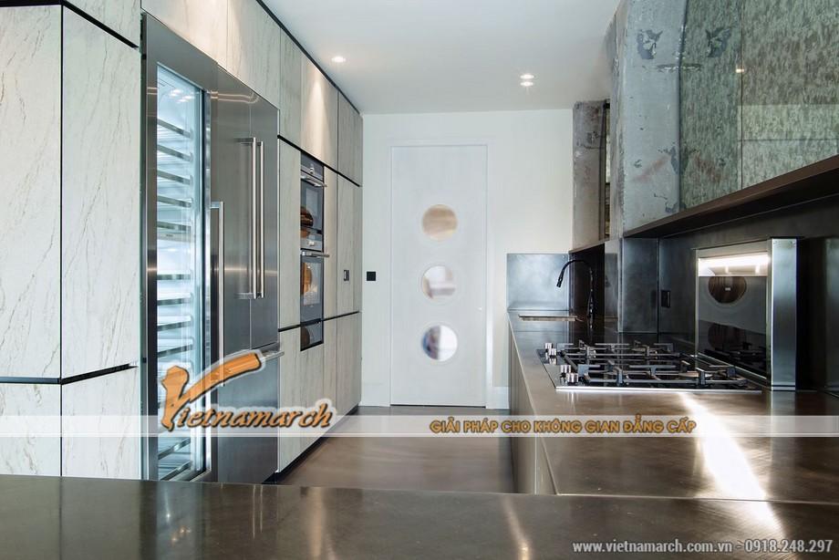 Nhà bếp tiện nghi, hiện đại với thiết bị nhà bếp cao cấp