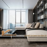 Phương án thiết kế nội thất căn hộ AA tháp B chung cư Trung Kính