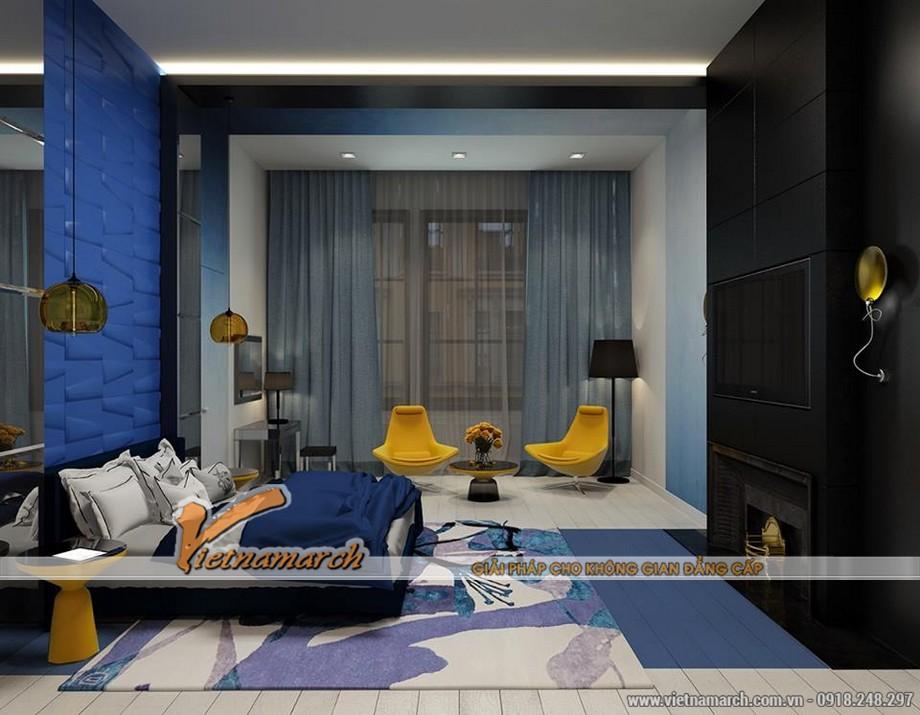 Nội thất phòng ngủ cho con - Thiết kế nội thất chung cư Trung Kính