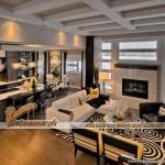 Thiết kế nội thất hiện đại trong căn biệt thự Vinhomes Riverside Hoa Anh Đào