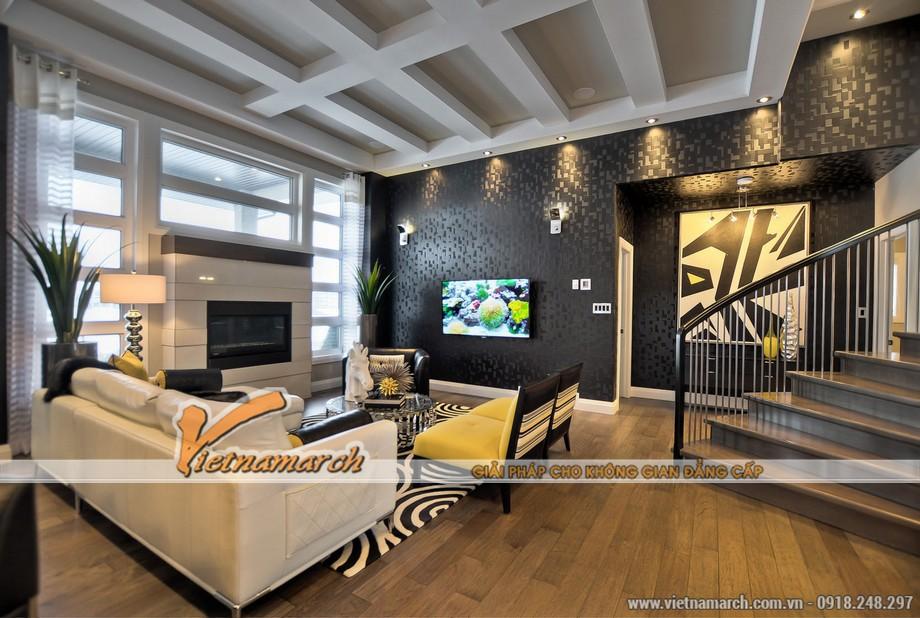 Phương án thiết kế nội thất biệt thự Vinhomes Riverside
