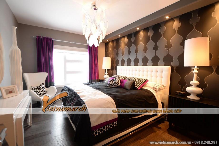 Thiết kế nội thất phòng ngủ ấm cúng
