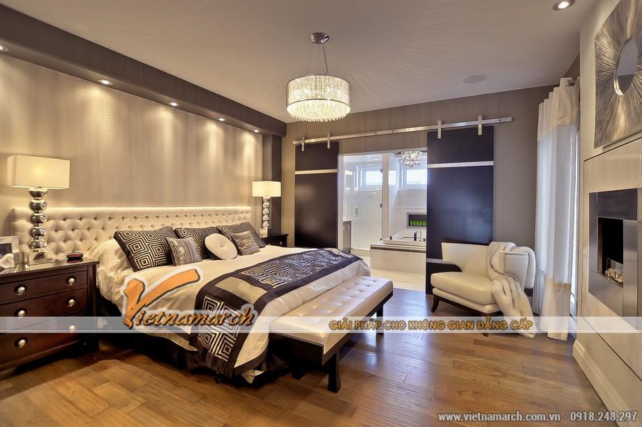 Phòng ngủ thứ 2 được thiết kế hiện đại