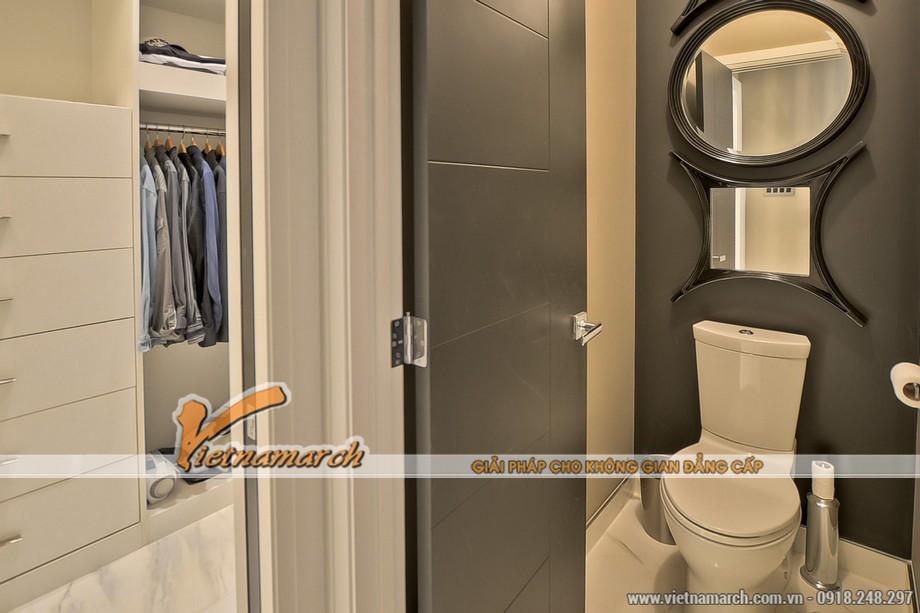 Thiết kế nội thất phòng tắm cực kì hiện đại