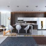 4 Ý tưởng thiết kế nội thất nhà bếp độc đáo dùng sự tương phản