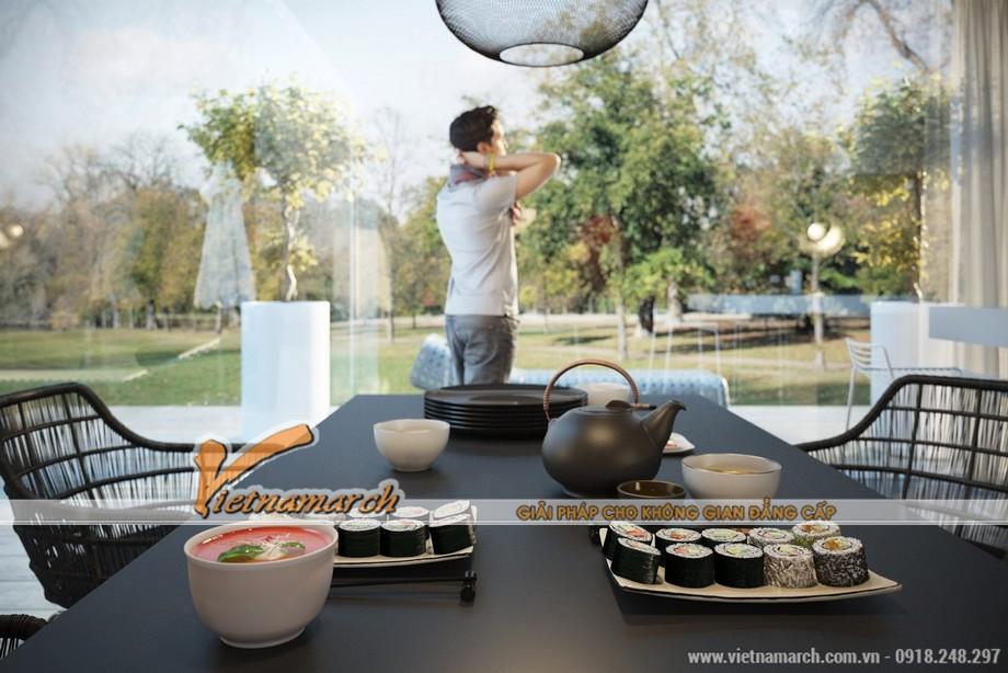 Hiện đại và gần gũi với thiên nhiên là ý tưởng cho thiết kế nội thất nhà bếp