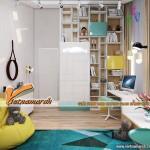 Thiết kế nội thất nhà phố 2 tầng Hồ Tây, Hà Nội