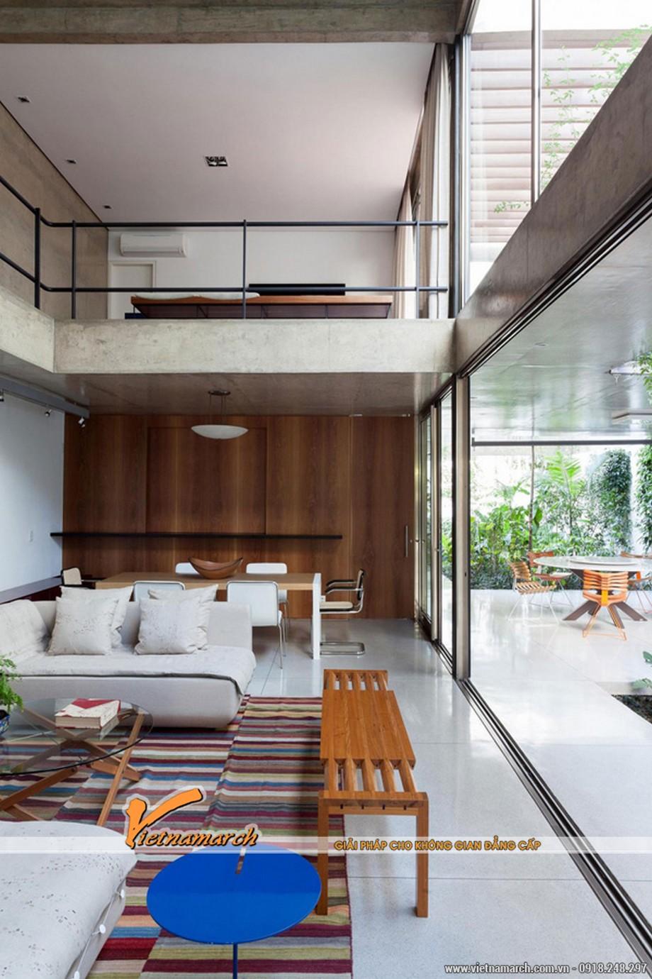 Thiết kế nội thất nhà phố với căn bếp lịch lãm, tao nhã