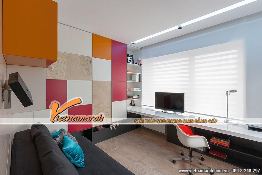 Thiết kế nội thất đầy màu sắc nhằm tăng trí sáng tạo
