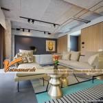 """Thiết kế nội thất chung cư với ý tưởng biến """"nhà kho"""" thành """"căn hộ sang chảnh"""""""
