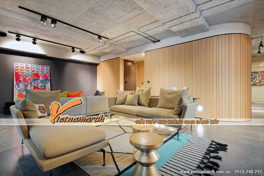 Thiết kế nội thất phòng khách những bức tranh tường nghệ thuật đương đại