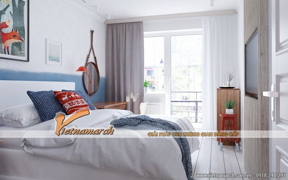 Thiết kế hướng ánh sáng, mang thiên nhiên nhiều nhất có thể cho phòng ngủ